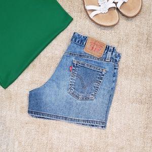 Levi's Denim Jean Shorts